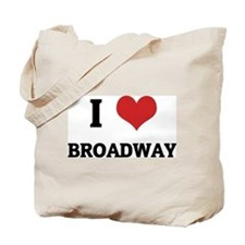 I Love Broadway Tote Bag