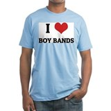 I Love Boy Bands Shirt