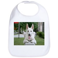 White German Shepard Bib