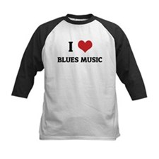 I Love Blues Music Tee