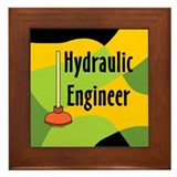 Hydraulic Engineer Framed Tile