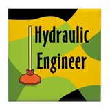 Hydraulic Engineer Tile Coaster