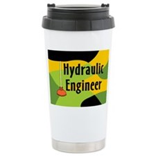 Hydraulic Engineer Ceramic Travel Mug