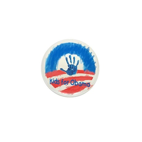 Kids for Obama Mini Button (100 pack)