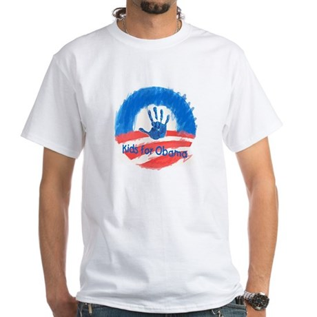 Kids for Obama White T-Shirt