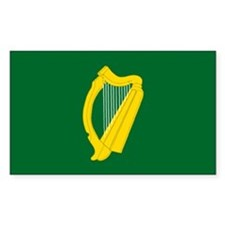"""Leinster Provincial Flag"" Rectangle Decal"