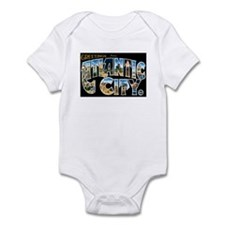 Atlantic City New Jersey NJ Infant Bodysuit