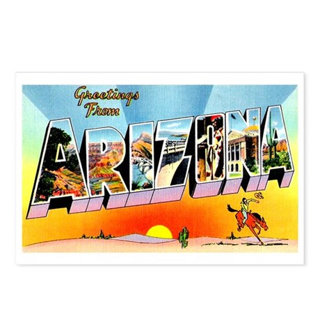 Arizona State Greetings Postcards (Package of 8)