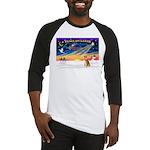 XmasSunrise/Shiba Inu 3 Baseball Jersey