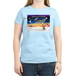 XmasSunrise/Shiba Inu 3 Women's Light T-Shirt