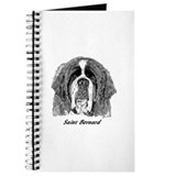 Funny Saint bernard Journal