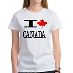 I Heart Canada Women's T-Shirt