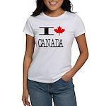 I Heart Canada Women's T-Shirt