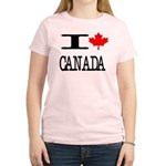 I Heart Canada Women's Light T-Shirt
