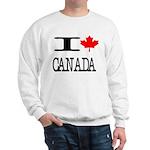 I Heart Canada Sweatshirt