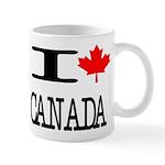 I Heart Canada Mug