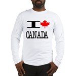 I Heart Canada Long Sleeve T-Shirt