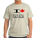 I Heart Canada Light T-Shirt