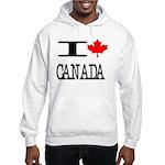 I Heart Canada Hooded Sweatshirt