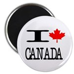 "I Heart Canada 2.25"" Magnet (100 pack)"