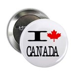 "I Heart Canada 2.25"" Button"