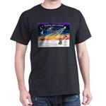 XmasSunrise/Poodle (min) Dark T-Shirt