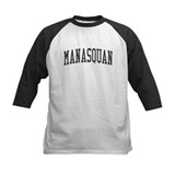 Manasquan New Jersey NJ Black Tee