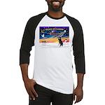 XmasSunrise/Std Poodle Baseball Jersey