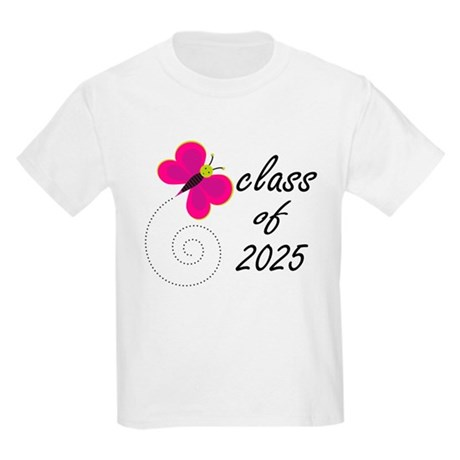 Cute Class Of 2025 Kids Light T-Shirt