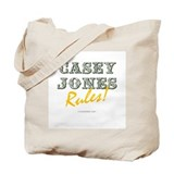 Casey Jones Rules! Tote Bag