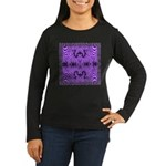 Fractal FS~01 Women's Long Sleeve Dark T-Shirt