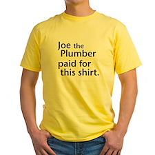 joehteplumber-white T-Shirt