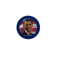 """Barack Obama 2008"" Mini Button"