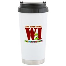 West Indies Cricket Ceramic Travel Mug