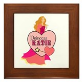 Princess Katie Framed Tile