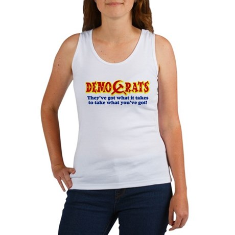DemoCrats - Take what you've got Women's Tank Top