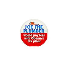 Joe The Plumber Mini Button