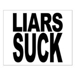 Liars Suck Small Poster