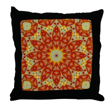 Emperor's Kaleidoscope Throw Pillow