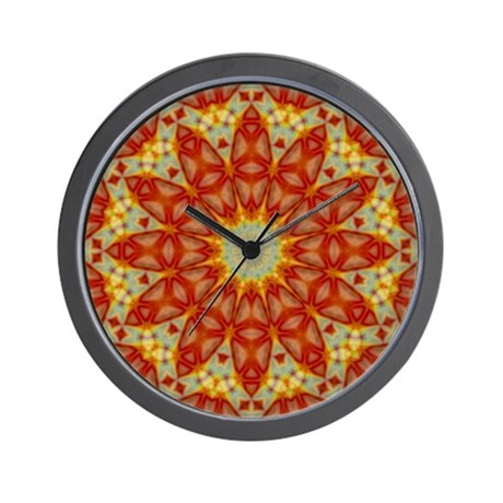 Emperor's Kaleidoscope Wall Clock
