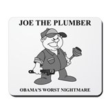 JOE THE PLUMBER NIGHTMARE Mousepad