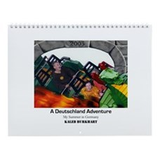 Wall Calendar -- Kaleb Summer 2005