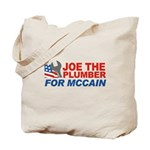 Joe the Plumber for McCain Tote Bag