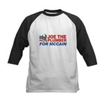 Joe the Plumber for McCain Kids Baseball Jersey