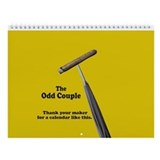 The odd couple Wall Calendars