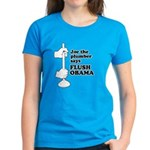 Flush Obama Women's Dark T-Shirt