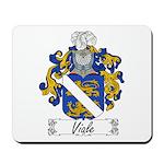 Viale Family Crest Mousepad