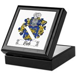 Viale Family Crest Keepsake Box