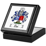 Viani Family Crest Keepsake Box