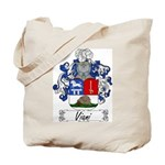 Viani Family Crest Tote Bag